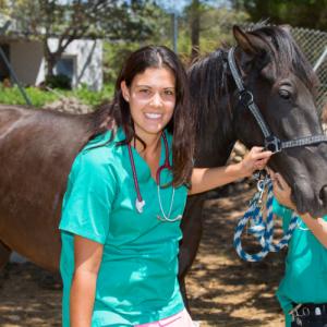 Justine-veterinaire-equin
